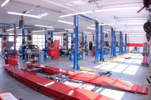 10-bay repair facility